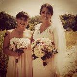 nina and emma at the wedding